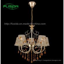Lampe pendentif en cristal moderne / lustre en verre (D-9302/5)