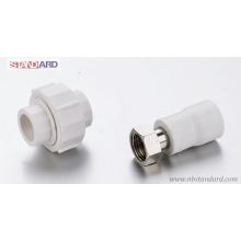 PPR-Verschraubung / PPR-Verschraubung / PPR-Verschraubung mit Messing-Überwurfmutter