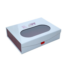Emballage de boîte en carton à fermeture magnétique imprimé de luxe pour pots et bouteilles cosmétiques