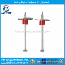 DN head mechanical galvanized drive pin with metal washer