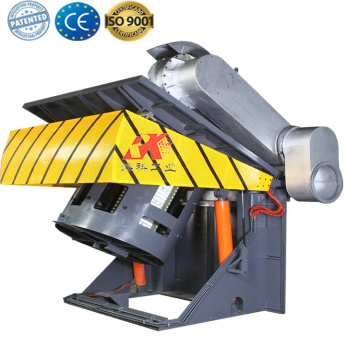 electric induction metal casting forging melt furnace