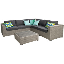 Resin Rattan Wicker Outdoor Furniture Garden Patio Sofa Set