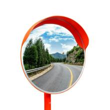 60cm outdoor convex mirror round plastic acrylic lens for road corner