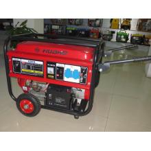 Generador de gasolina de 5kw con ruedas