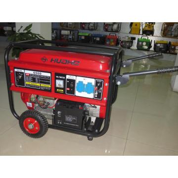 5кВт Главная бензиновый генератор с колесами