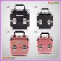 Tamanho médio crocodilo de PVC Mateiral caixa de armazenamento de maquiagem (saccom105)
