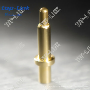 Through Hole Brass Pogo Pin with Spring Loaded
