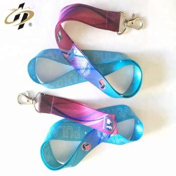 Custom printed logo polyester elastic satin ribbon