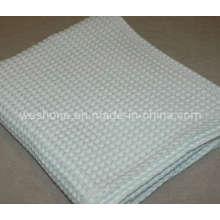 Cobertor de algodão suave Waffle orgânico 100%