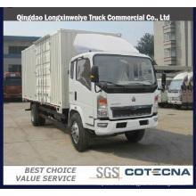 Sinotruck HOWO 4X2 Light Van 5ton Cargo Truck
