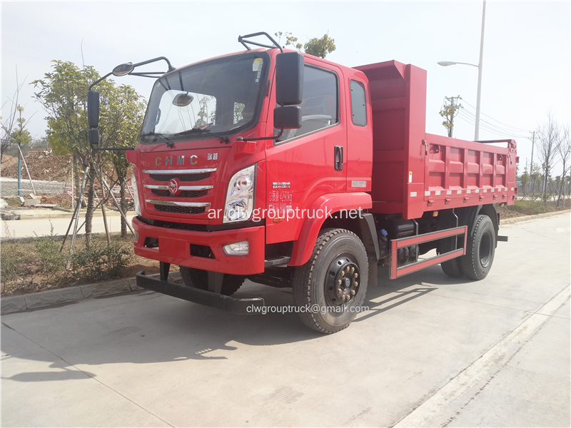CHMC light duty 115hp tump truck