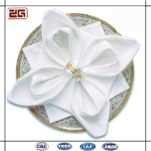 Elegante Lujo Personalizada Hotel Wedding Tabla De Lino Plain Blanco 100Cotton Servilleta