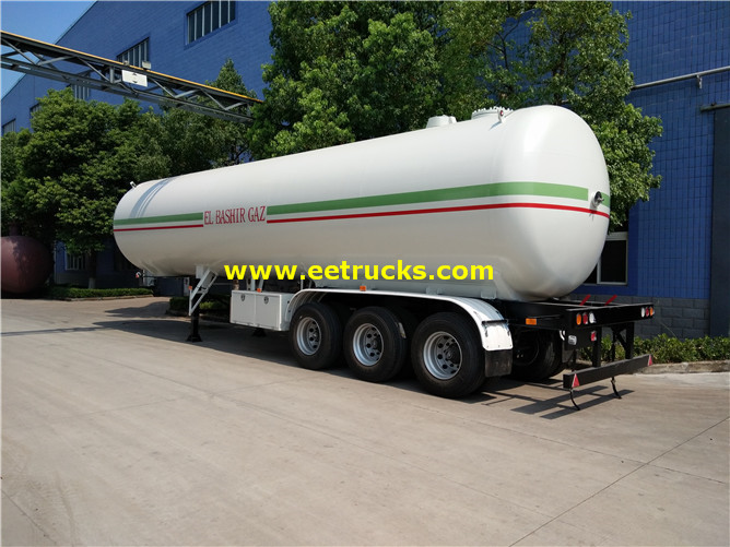 54000L Propane Gas Truck Semi-trailers