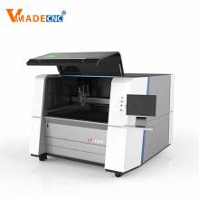 Máquina de corte por láser de fibra de placa de chapa CNC