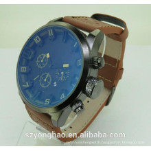 Most popular cute design clock shenzhen watch maket with man