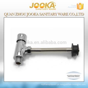 Válvula nivelada do toalete do atraso do tempo do controle do pé do corpo do zinco