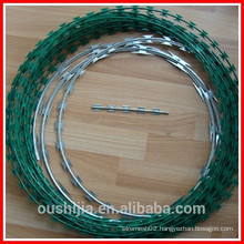 galvanized stainless steel pvc razor barbed wire