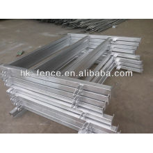 hot-dipped galvanized travel corral panel (factory)