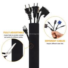Neopren-Kabel-Organisator-Verpackungs-Kabel-Ärmel mit Reißverschluss