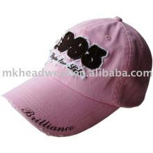 Gorra de béisbol de los niños con el remiendo