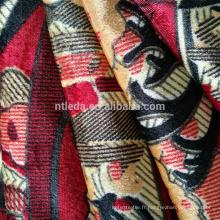 Tissu imprimé de style de la Turquie pour le textile à la maison