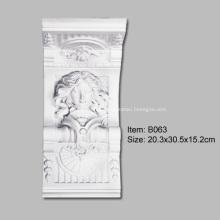 Exquisita Estatua De Poliuretano Corbel