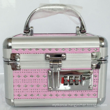 Aluminium Makeup Case with Coded Lock