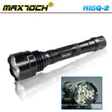 Maxtoch HI5Q-2 2 * 18650 Flashlight LED Rechargeable
