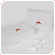 Recycled luxury wedding engagement paper gift box manufacturer