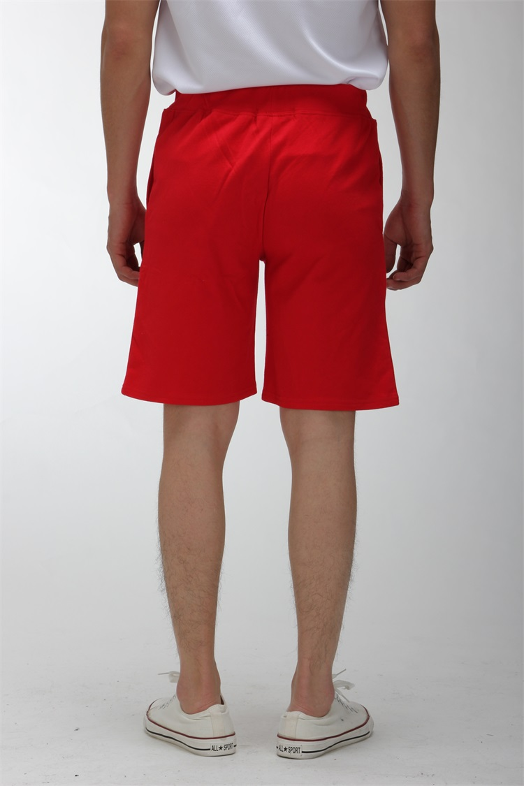 Cotton Red Shorts