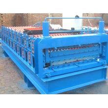 Bom serviço pós-venda máquina formadora de rolos de telha dupla camada