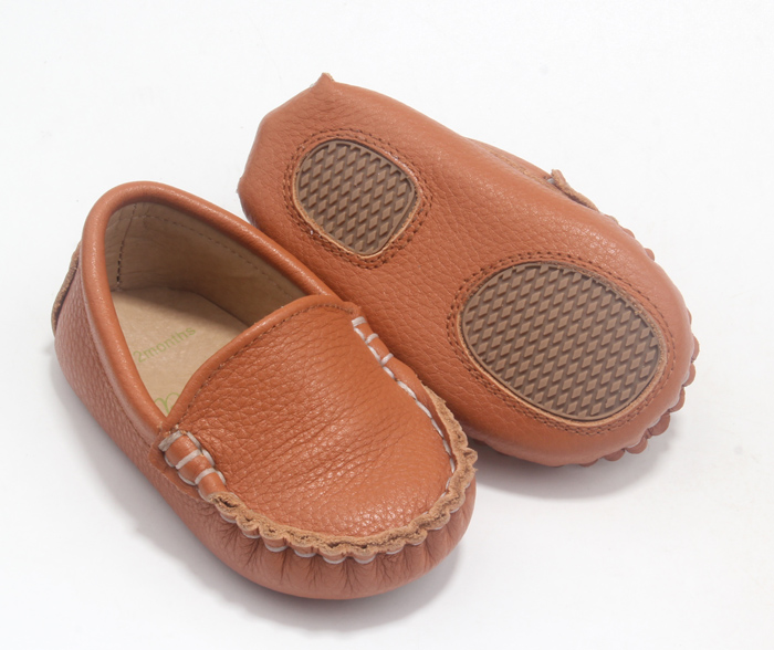 leather baby shoes boat shoe