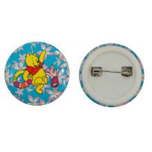 Werbung Promotion Sicherheit Tinplate Button Badge für hohe Qualität