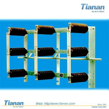 12 - 38,5 kV, 400 - 4 000 A Interruptor de desconexão exterior / média voltagem / fusível