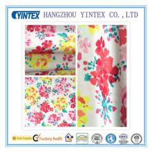 """Tissu imprimé en satin de polyester, tricoté à la main et en polyester, 56 """", 75D * 150d / 220 * 96"""