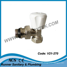 Manual Radiator Valve with Self-Sealing (V21-270)