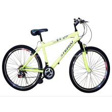 MTB Fahrrad mit direkt oberen Rahmenrohr