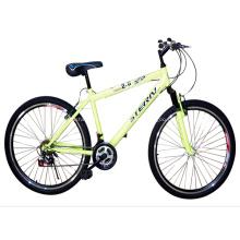 Bicicleta de MTB con marco recto superior tubo