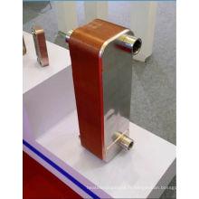 Échangeur de chaleur à plaques brasées SS316L pour compresseur d'air