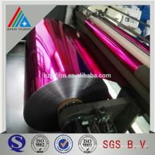 Revestimiento de color metalizado Revestimiento de película Polyester Aluminium Glitter Powder
