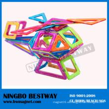 Plástico creativo Magformers Building Block Toys