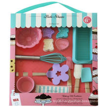 Children Gift Box Silicone Kids Baking Tools Kits