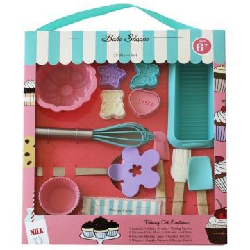 Caja de regalo para niños, silicona, niños, kits de herramientas para hornear