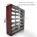 mobile library book rack, multi library book shelves,used library bookcases