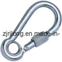Schnapphaken mit Öse und Schraube Dr-Z0023