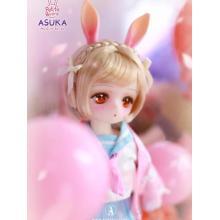 BJD Muñeca articulada Petite Bunny Asuka Boll de 30 cm