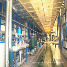 Electrophoresis Paint Spraying Line with High Quality for Bus Industry