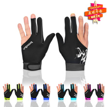 Factory Promotion Three Finger Billiard Glove