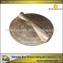 Non standard customized butterfly valve brass plate
