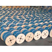 Черное масло Упаковка Вьюрка веревочки стального провода с высоким качеством